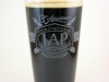 13th Anniversary Engraved Pint Glass Filled