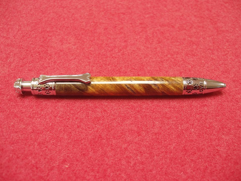 Dog Click Pen Buckeye Burl.JPG