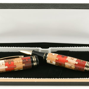 Inlay Puzzle pen from Woodcraft