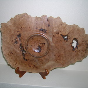 Open Form - Big Leaf Maple Burl