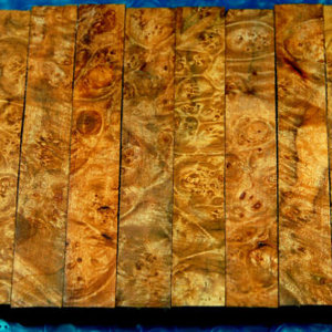 Maple Burl Pen Blanks