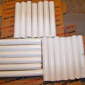 20 Pure White Blanks