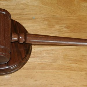 Gavel with striker