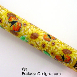 Yellow Sunflower~Polymer Clay