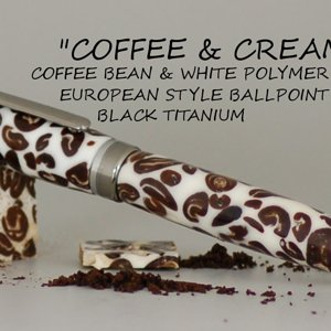 Coffee Bean Euro Pen