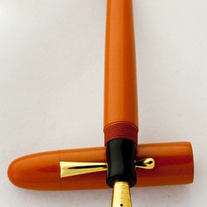 Custom Orange Ebonite