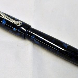 Rich Blue Pearl Custom Fountain Pen