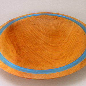 Cherry and Alumilite Platter