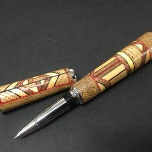 Segmented Hour Glass Rollerball