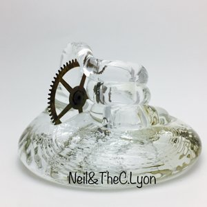 Neil & C.Lyon Glass Pen Holders 10/2017