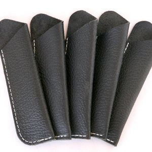 Leather Pen Sleeves
