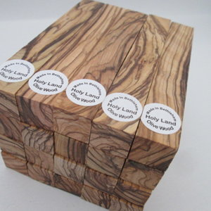 BETHLEHEM/ HIGHLY FIGURED Olive Wood Pen Blanks ( BOW )