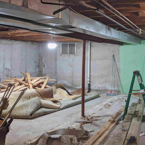 Shop under construction - panoramic
