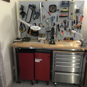 Workbench for Polymer Clay Penmaking