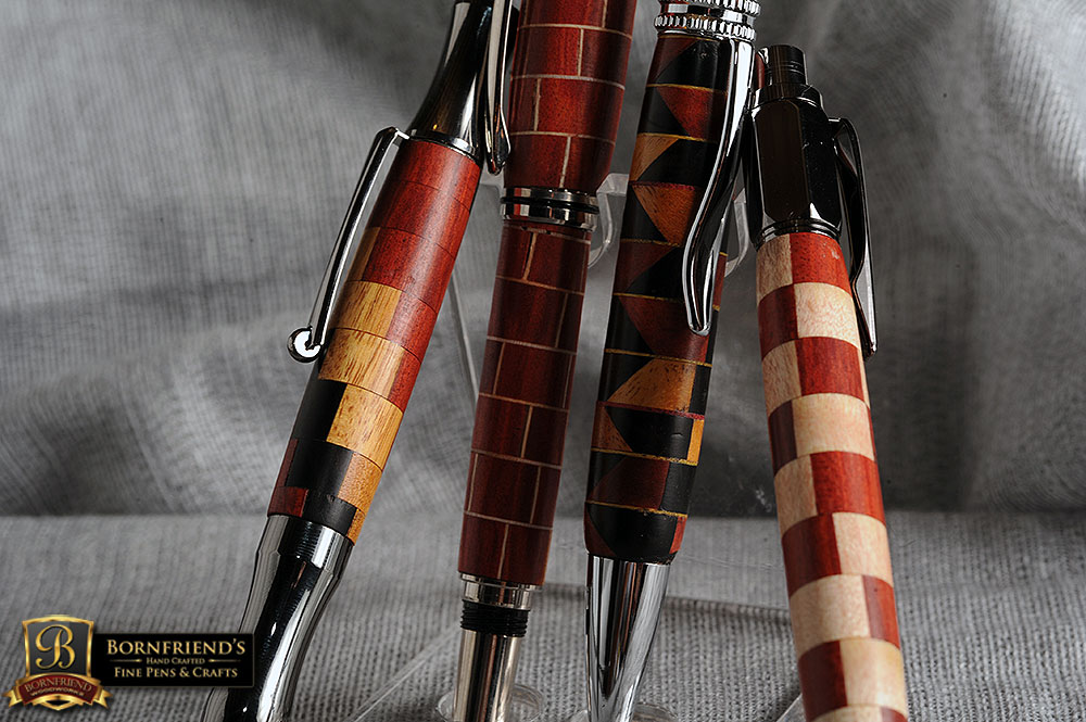 Some of my personal favorites Segmented Pens