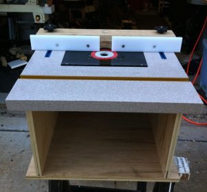 Homemade Router Table | The International Association of Penturners